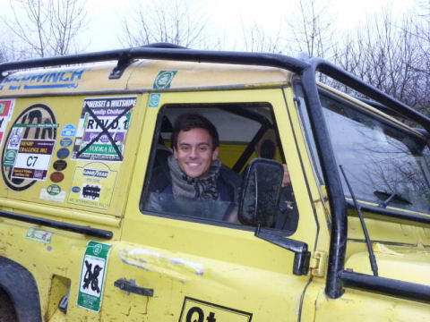 Tom Daley at Trax and Trails